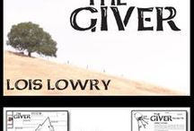 Teaching THE GIVER by Lois Lowry / A fantastic teaching unit for Lois Lowry's young adult novel The Giver. 178 pages of activities that are sure to engage middle school or high school English students. Utopias, Pre-Reading, Plot, Conflict, Characters, Ceremony of Twelve, Writing Journals, Pop Quizzes, Vocabulary, Essay, Newbery Award Speech, Jeopardy, Projects, Pain Discussion