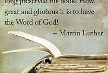 Luther Quotes & Bibel Verses