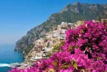 "My Travels in Italy - Campania / Campania regione incantevole ....Chist' ""o paese d' ""o sole, Chist' ""o paese d' ""o mare!    / by DIVINA SEI !!!"
