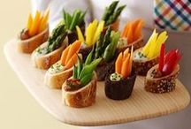 [Appetizers] / Start the party off right with these food ideas and easy recipes for dips, spreads, finger foods, and appetizers. / by Desserts Designed