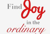 Joy Quotes  / Joy quotes & sayings to inspire you!