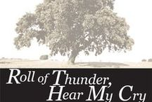 Teaching ROLL OF THUNDER, HEAR MY CRY by Mildred Taylor / A gut-wrenching teaching unit for Mildred Taylor's classic young adult novel Roll of Thunder, Hear My Cry. 160+ pages of activities that are sure to engage students. PreReading Bias Discussion, Plot, Conflict, Characters, Figurative Language, Symbols, Writing Journals, Pop Quizzes, Vocabulary, Web Links, Essay & Speech, Black History Month