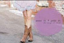 wear it + pair it.
