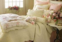 Shabby chic bedroom / Alles voor een leuk slaapkamer shabby way