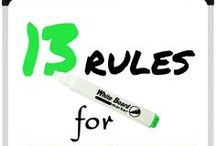 13 Rules for Effective Communication in the Classroom