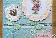 J cards / Handmade cards.