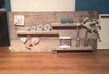 Luke / Handmade by Luke!! Steigerhout en nog veel meer. Tafels, bank, krantenstandaard en nog veel meer.