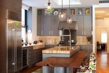 [Kitchen Envy] / They say the kitchen is the HEART of the home and after looking at a few of these gorgeous photos, I'm sure you'll fall in love with a design or two! Inspiration + Design Ideas. / by Desserts Designed
