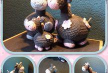 J's amigurumi. www.facebook.com/MadebyJ.4kids / Mijn eigen haakwerkjes net begonnen dus nog niet veel gemaakt.
