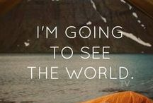 J'ai Voyagé - Je Voyagerai / Travel, see the world, learn, live. Beautiful.