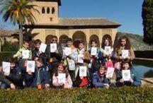 Visitas a la Alhambra / Fotos sobre la visitas a la Alhambra que realizan los alumnos y profesores de los centros educativos que participan en el programa educativo Vivir y sentir la Alhambra.