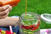 Food • Salate / Auf diesem Board findest du leckere Salatrezepte welche du einfach zubereiten kannst. Wie immer sind es gesunde Rezepte.