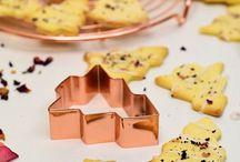 Food • Weihnachtsbäckerei / Leckere Plätzchen und Küchlein