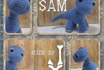 Amigurumi haken -patronen designs made by J www.facebook.com/MadebyJ.4kids / Eigen gehaakte ontwerpen. Patronen Amigurumi  haken. Haken , haakpatronen gratis, kooppatroon, baby, kinderen, poppen, rammelaars, bijtring haken, dieren haken, www.facebook.com/MadebyJ.4kids