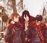 Harry Potter - alot of ships