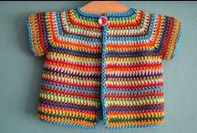 Crochet: Vêtements bébés et enfants