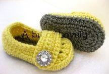 Chaussons et chaussettes au crochet et tricot