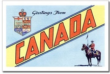 Souvenirs of Canada.