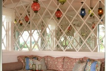 Bedroom ideas / Ideas and themes for the bedroom - ethnic patterns and colour combinations