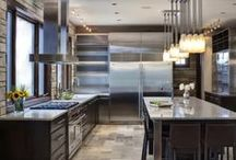"Awesome Kitchens / kitchens that are comfortable, kitchens with great designs, country kitchens, restuarant style kitchens, contemporary kitchens, rustic kitchens, modern kitchens, futuristic kitchens. All types of kitchens that strike your attention and make you think ""Gee, that's awesome!"""