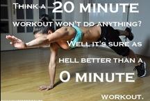 20min Workout / by Tahirah Knight