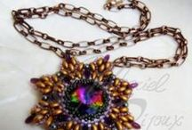 Collane - Necklaces / Necklaces with beads, stones and components chainmaille