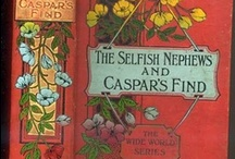 Books with lovely old bindings / Victorian bindings were the best!