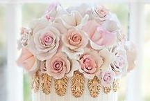 ❉ Glamorous Wedding Cakes ❉