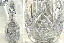 Crystal Cut Glass / Crystal Cut Glass Decanters, Jugs and Drinking Glasses Including Wine, Sherry, Liqueur, Goblets, Brandy etc