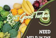 Project: Eat Good Tucker / Design work for Eat Good Tucker. http://conradpk.com