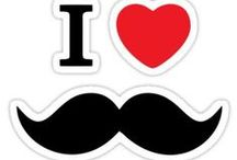 i love moustache