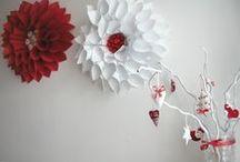 Saját munkák / Saját készítésű dekorációs díszek, függők.