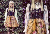 Mori kei/ Seams Unusual inspo board / Fashion and inspiration for design and patterns / by Annie Driscoll