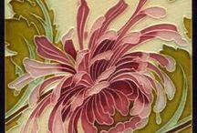 applied art / prints, patterns, ceramics, textile art
