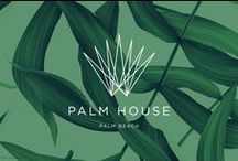 Palm House / The Seventh Art branding work helped merge the aesthetic of the hotel developer with the modern minimalist of the hotel operator. The resulting materials created a fresh and different look for Palm Beach, and made Palm House one of the most hotly anticipated new hotels in recent memory. Services included brand strategy, brand identity, logo design, brochure, web site, hotel signage, print ads, and room signs.