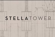 Stella Tower / With a strong branding and marketing campaign in place that included a brochure, web site and collateral including a beautifully branded scarf and umbrella, discerning customers were eager to own a piece of Stella Tower. The Seventh Art's services included branding, collateral, brochure, website, 3D renderings, signage, and marketing plans.