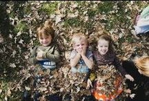 Seasonal Play / Nature for children. Every day. We encourage children to get outdoors in ALL seasons!