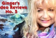 Ginger's Help Student Reviews / Artists who are members of www.gingercooklive.gallery sen me photos of their work for help and suggestions on a one on one persoal coaching. I write back wih things I feel can make the paintings better. I take the mose interesting ones and film a video review weekly for YouTube.