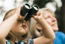 Tools for Observation / These tools give children the chance to notice and explore nature in an unstructured manner, providing the key to developing a sense of wonder and skills for life-long learning.