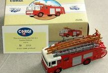 Diecast Models / Diecast models including Corgi, Matchbox and Dinky cars, trucks, vans, lorries, fire engines etc