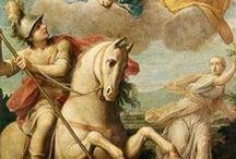 Sants guerrers / Sant Miquel, sant Jordi, santa Marta, santa Margarida
