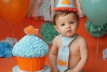 Cake Smash | Inspiration / These are awesome cake smash ideas for reference :)