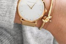 Relógios Femininos / Relógios minimalistas e elegantes, clássicos em ouro e ouro rose, couro e materiais nobres