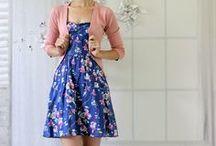 Estilo | Lady Like / Looks lady like, ingenue, retro, vintage, vestidos, saias rodadas, modelagens godé (círculo), evasé, rendas, bordados, babados, xadrez, vichy, floral, feminino