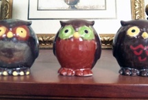 Owls in the House / We love our Owls! You'll find many owls hanging out in the Alumni House. Hootie Hoot Hoot!