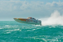 "REDS Offshore Racing / Florida Gearheads who Burn Water at High Speeds - Eddie ""Flipflop Water Creature"" Tamberino, Nate ""Poker Run"" Hunt & Robbie ""Marine MacGyver"" Gourley.  Go Reds!"