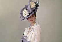 Audrey Hepburns hats / Here I have many image's of Audrey Hepburn when she's worn all sorts of hat's. I may have a few images doubles but in different possition's. Enjoy