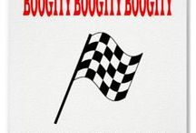 Boogity boogity lets go racing / by Linda Degraw