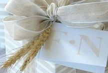 BROWN PAPER PACKAGES TIED UP WITH STRING / Gift wrapping ideas, packaging, gifts