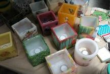 my creations / candles, bags and more..